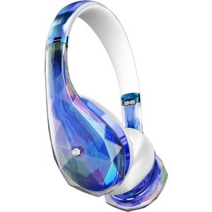 Фото Наушники Monster DiamondZ clear blue (137028-00)