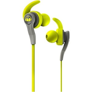 Наушники Monster iSport Compete In-Ear green (137084-00) беспроводные наушники monster isport victory in ear wireless blue