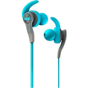 Наушники Monster iSport Compete In-Ear blue (137083-00) охватывающие наушники monster adidas originals over ear headphones blue