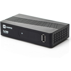 все цены на Тюнер DVB-T2 HARPER HDT2-1202