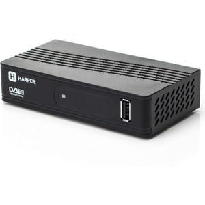 купить Тюнер DVB-T2 HARPER HDT2-1202