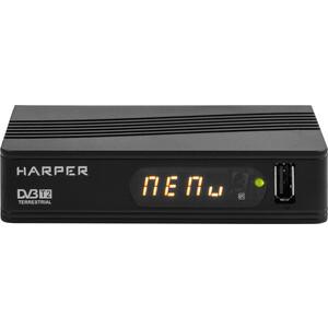 все цены на Тюнер DVB-T2 HARPER HDT2-1514