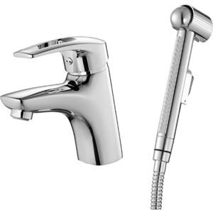 Смеситель для умывальника IDDIS Carlow Plus с гигиеническим душем (CRPSB00i08) смеситель для раковины lemark omega с гигиеническим душем lm3116c