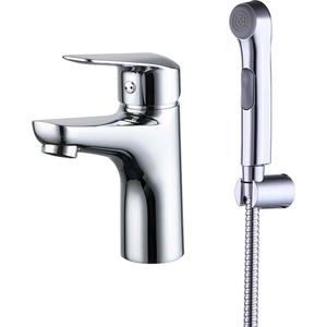 Смеситель для умывальника IDDIS Torr с гигиеническим душем (TORSB00i08) смеситель для ванны душа iddis torr
