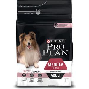 Сухой корм PRO PLAN OPTIDERMA Sensitive Skin Adult Medium с лососем и рисом для собак средних пород с чувствительной кожей 16,5кг (12272392) брюки котмаркот штанишки звездное небо