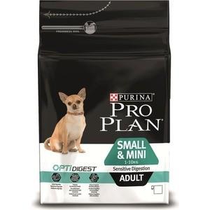 Сухой корм PRO PLAN OPTIDIGEST Sensitive Digestion Adult Small & Mini с ягненком для собак мелких пород с чувствительным пищеварением 7кг (12278941) pro plan puppy sensitive купить