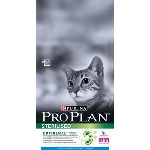 Сухой корм PRO PLAN OPTIRENAL Sterilised Cat with Rabbit с кроликом для стерилизованных кошек 1,5кг (12171883) сухой корм pro plan optirenal sterilised cat rich in turkey с индейкой для стерилизованных кошек 1 5кг 12171895