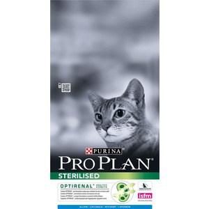Сухой корм PRO PLAN OPTIRENAL Sterilised Cat with Rabbit с кроликом для стерилизованных кошек 10кг (12171888) сухой корм pro plan optirenal sterilised cat rich in turkey с индейкой для стерилизованных кошек 1 5кг 12171895