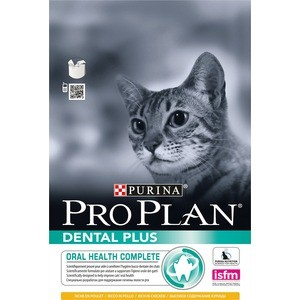 Сухой корм PRO PLAN DENTAL PLUS Oral Health Complete Adult Cat Rich in Chicken с курицей здоровье полости рта для кошек 3кг (12229467) perfect fit junior rich in chicken