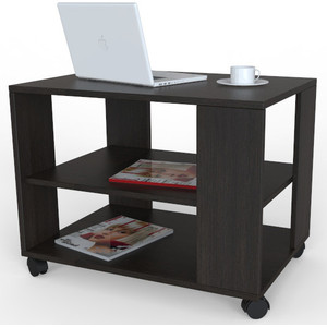 Стол журнальный Мебелик BeautyStyle 5 венге/без стекла журнальный столик мебелик beautystyle 1