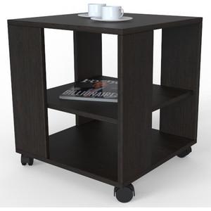 Стол журнальный Мебелик BeautyStyle 6 венге/без стекла мебелик дуэт 6 чёрный тонированное