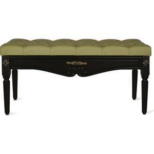 Банкетка Мебелик Сильвия эко-кожа оливковый/венге yuerlian оливковый l