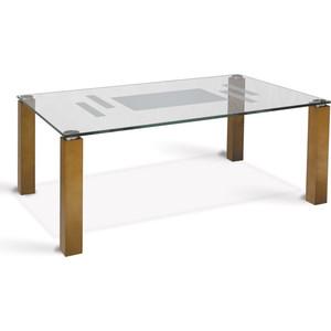 Стол журнальный Мебелик Робер 10Д средне-коричневый стол журнальный мебелик комфорт 3 орех средне коричневый