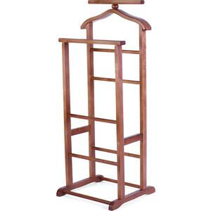мебелик костюмная вешалка галант 332 алюминий средне коричневый Вешалка костюмная Мебелик В 9Н средне-коричневый