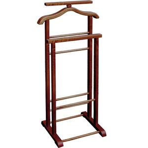Вешалка костюмная Мебелик В 9Н тёмно-коричневый