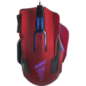 Игровая мышь Speedlink OMNIVI red black