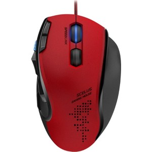 Игровая мышь Speedlink SCELUS black red