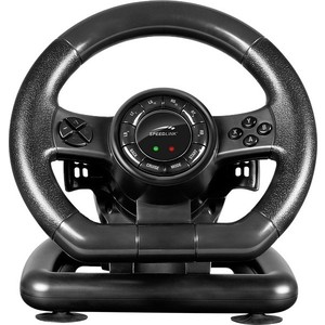 Руль Speedlink BLACK BOLT Racing Wheel (PC) планшет ginzzu gt 8110 black spreadtrum sc9832 1 3 ghz 1024mb 16gb gps lte wi fi bluetooth cam 8 0 1280x800 android