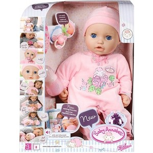 Zapf Creation Baby Annabell Кукла многофункциональная, 43 см (794-821)