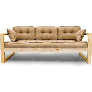 Диван Anderson Астер сосна-бежевая рогожка шатура комплект лондон 2 рогожка микс бежевая диван 2 кресла