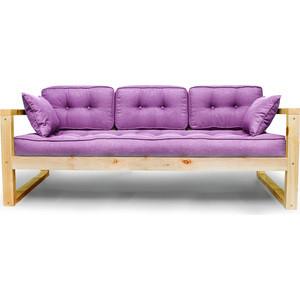 Диван Аnderson Астер сосна-фиолетовая рогожка