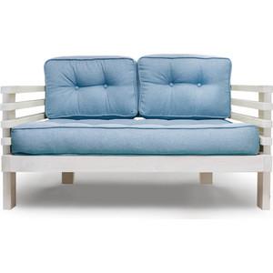Диван Anderson Стоун Мини бел дуб-синяя рогожка диван ру стоун