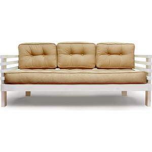 Диван Anderson Стоун бел дуб-бежевая рогожка шатура комплект лондон 2 рогожка микс бежевая диван 2 кресла