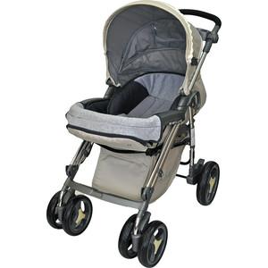 Прогулочная коляска Babylux (книжка) - чехол на ножки, рег.подн., бампер, 4 пол.сп., PURE беж. 207B