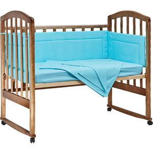 BamBola Комплект в кроватку 4пр. Карамельки Бирюзовый 403