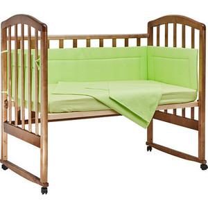 BamBola Комплект в кроватку 4пр. Карамельки Зеленый 403
