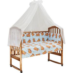 BamBola Комплект в кроватку 7пр. Сони Голубой 704