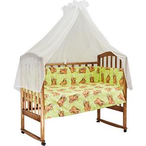 BamBola Комплект в кроватку 7пр. Сони Зеленый 704
