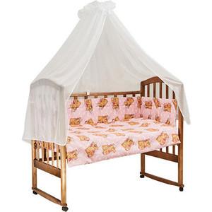 BamBola Комплект в кроватку 7пр. Сони Розовый 704