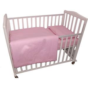 BamBola Комплект постельного белья Карамельки Бязь Розовый 123