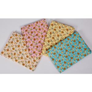 BamBola Комплект постельного белья Малышок Бязь Голубой 125