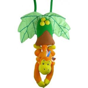 Подвесная игрушка Biba Toys Музыкальна обезьяна BM659 biba toys на клипсе обезьянка br120