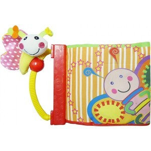 Развивающая игрушка-книга Biba Toys Бабочка / Утенок BB056