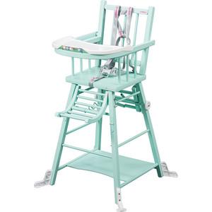 Стул для кормления - трансформер Combelle Transformable, 47х47х98 см, Mint green / Мятно-зеленый 34