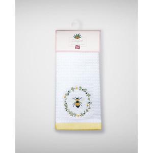 Набор кухонных полотенец TAC Daisy bee 40x60 махра/вышивка 2 штуки (2999k-89686)