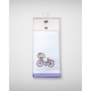 Набор кухонных полотенец TAC Bicycle 40x60 махра/вышивка 2 штуки (2999k-89687)