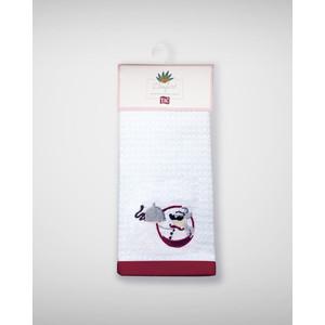 Набор кухонных полотенец TAC Chef 40x60 махра/вышивка 2 штуки (2999k-89692) футболка 2 штуки quelle lascana 703662