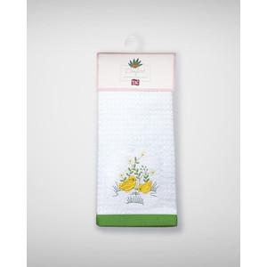 Набор кухонных полотенец TAC Yellow chick 40x60 махра/вышивка 2 штуки (2999k-89693)