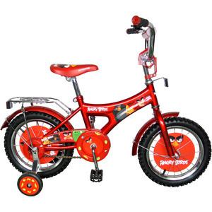 Navigator Велосипед 12, Angry Birds, красный, ВН12066 велосипед stels navigator 310 2016
