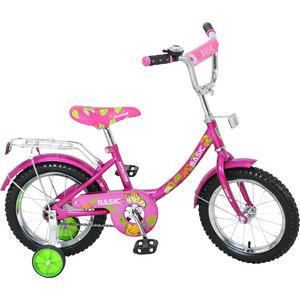 Navigator Велосипед 14, Basic, розовый, ВН14059 велосипед stels navigator 310 2016