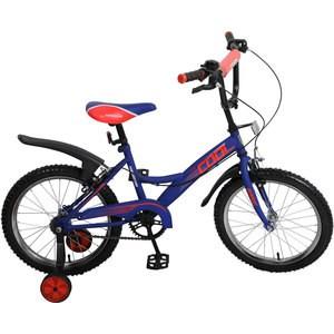 Navigator Велосипед 18'', Basic COOL, синий/красный ВН18070