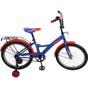 Navigator Велосипед 20, Навигатор Basic, KITE синий/красный литой диск replica b187 7 5x17 5x112 d66 6 et52 sf