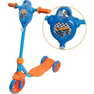 Самокат 3-х колесный 1Toy Hot wheels, Т57587