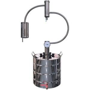Дистиллятор проточный Добрый Жар Сфера 12 литров дистиллятор проточный феникс хозяин с разборным сухопарником 12 литров