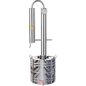 Дистиллятор проточный Добрый Жар Профи Плюс 15 литров дистиллятор проточный феникс хозяин с разборным сухопарником 15 литров