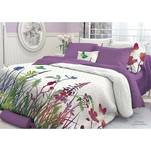 где купить  Комплект постельного белья Verossa Constante 1,5 сп, перкаль, Fennel с наволочками 70x70 (706986)  по лучшей цене
